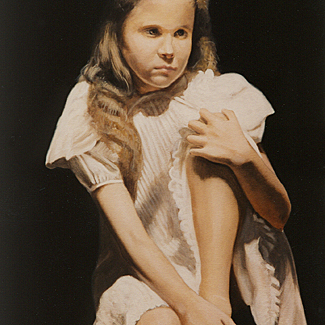 The Liebendorfer Girl - Oil on Canvas - 36 x 24 - SOLD<br />