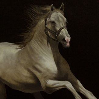 Apollo - Oil on Canvas - 42 x 36 - $42,500<br />