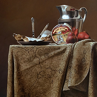Repast - Oil on Canvas - 36 x 24 - SOLD<br />