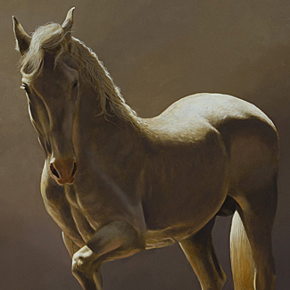 Caballero - Oil on Canvas - 24 x 30 - $42,500<br />
