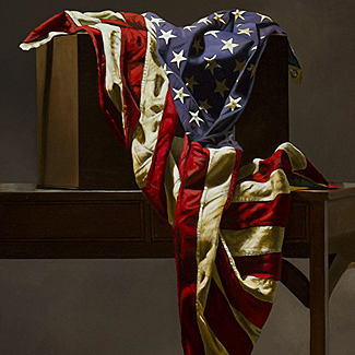 American Still Life - Oil on Canvas - 36 x 24 - $52,500<br />
