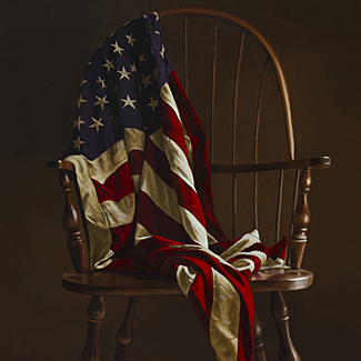 Americana - Oil on Canvas - 48 x 34 - $60,5000<br />